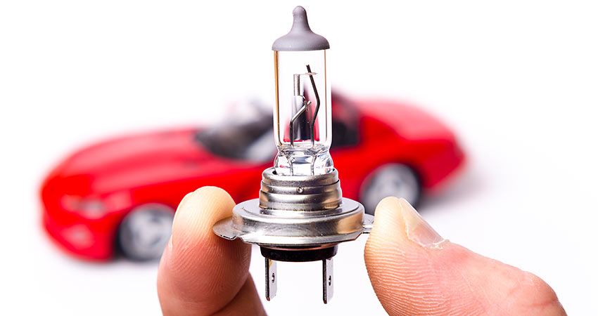 automobile lamp bulb