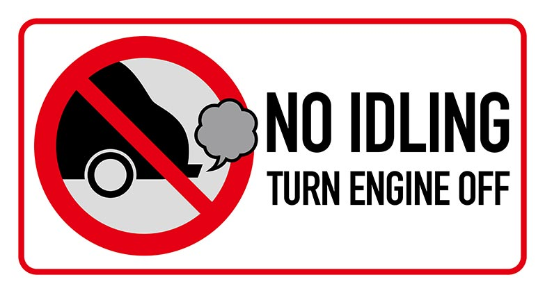 idling vehicle