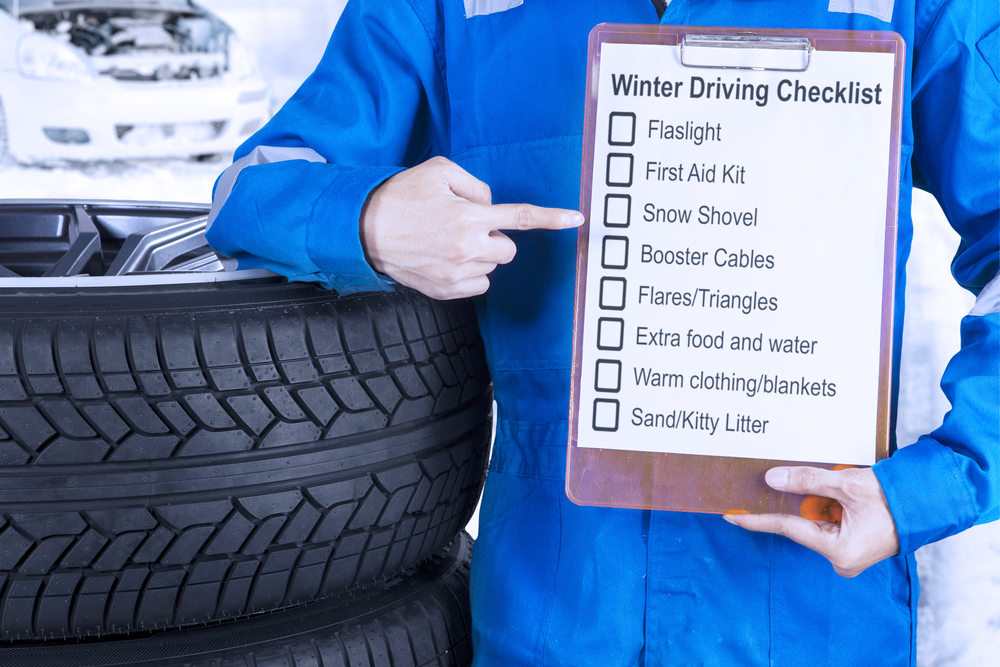 checklist of items to keep in your car