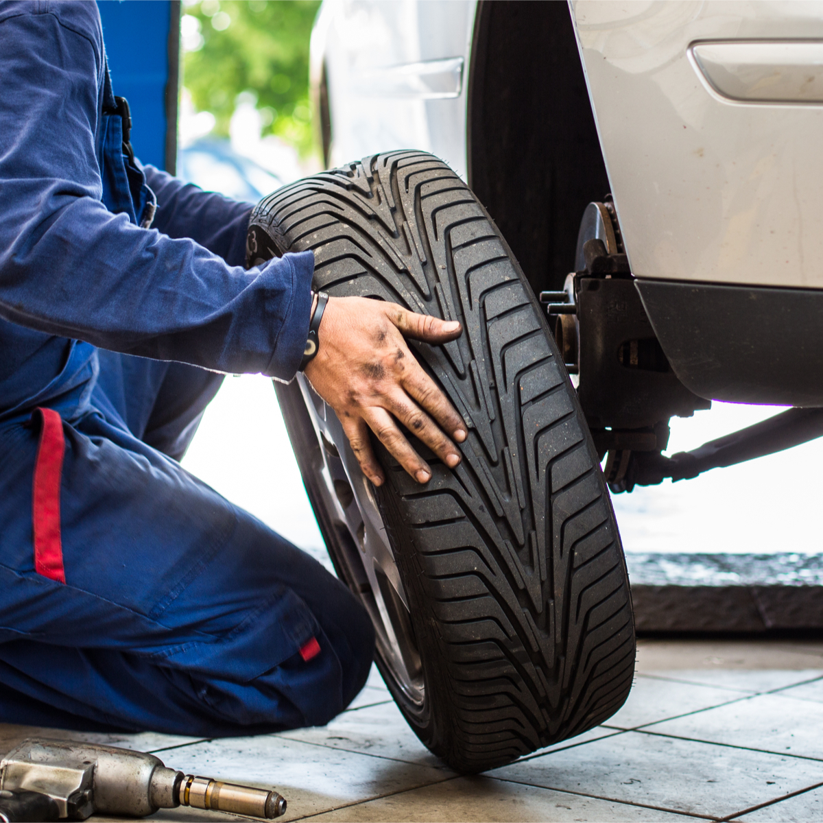 Winter tires in British Columbia and Alberta